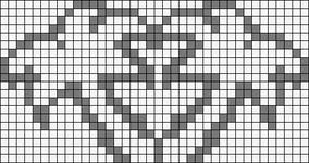 Alpha pattern #2640