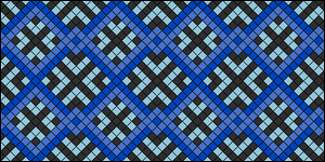 Normal Friendship Bracelet Pattern #2641
