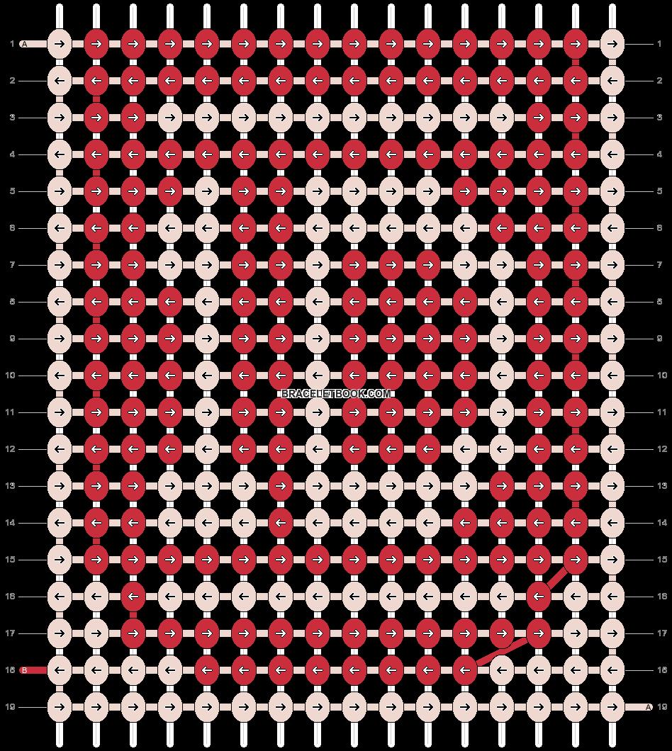 Alpha pattern #2649 pattern
