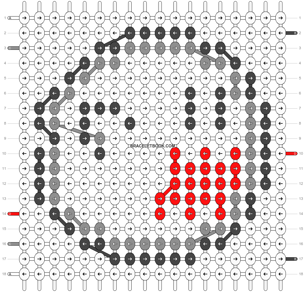 Alpha pattern #2652 pattern