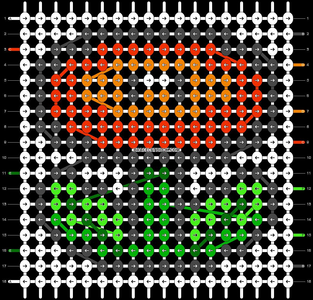 Alpha pattern #2656 pattern