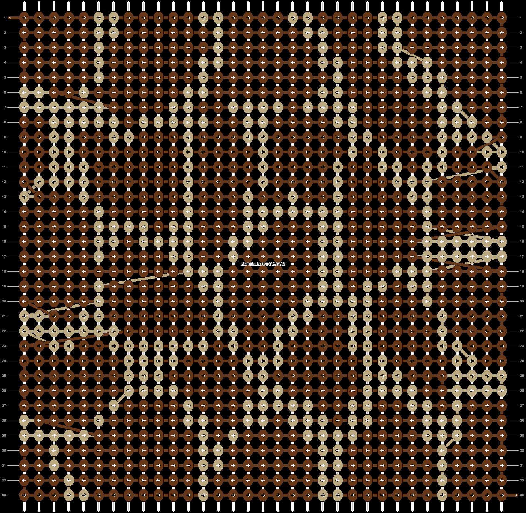 Alpha pattern #2662 pattern