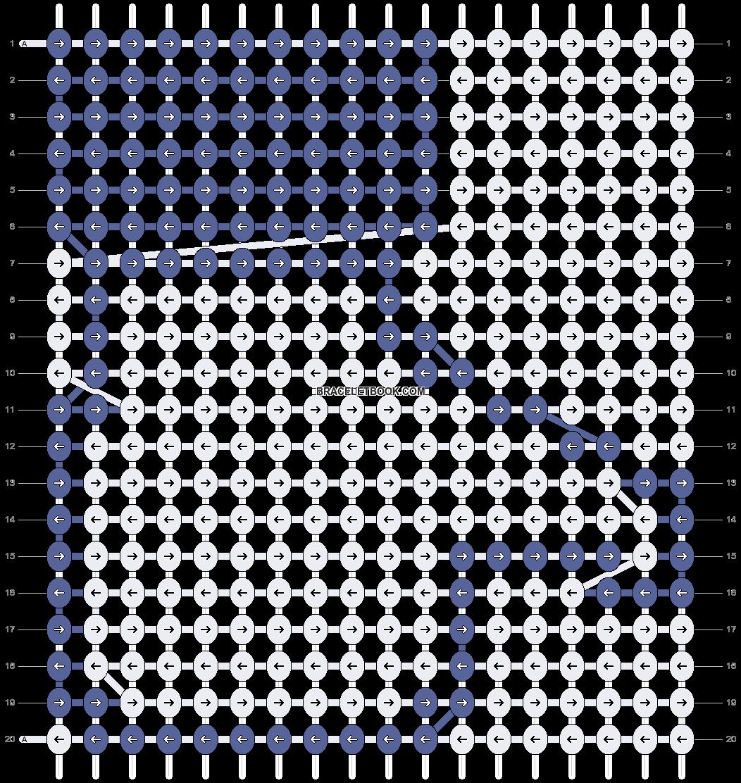 Alpha pattern #2664 pattern