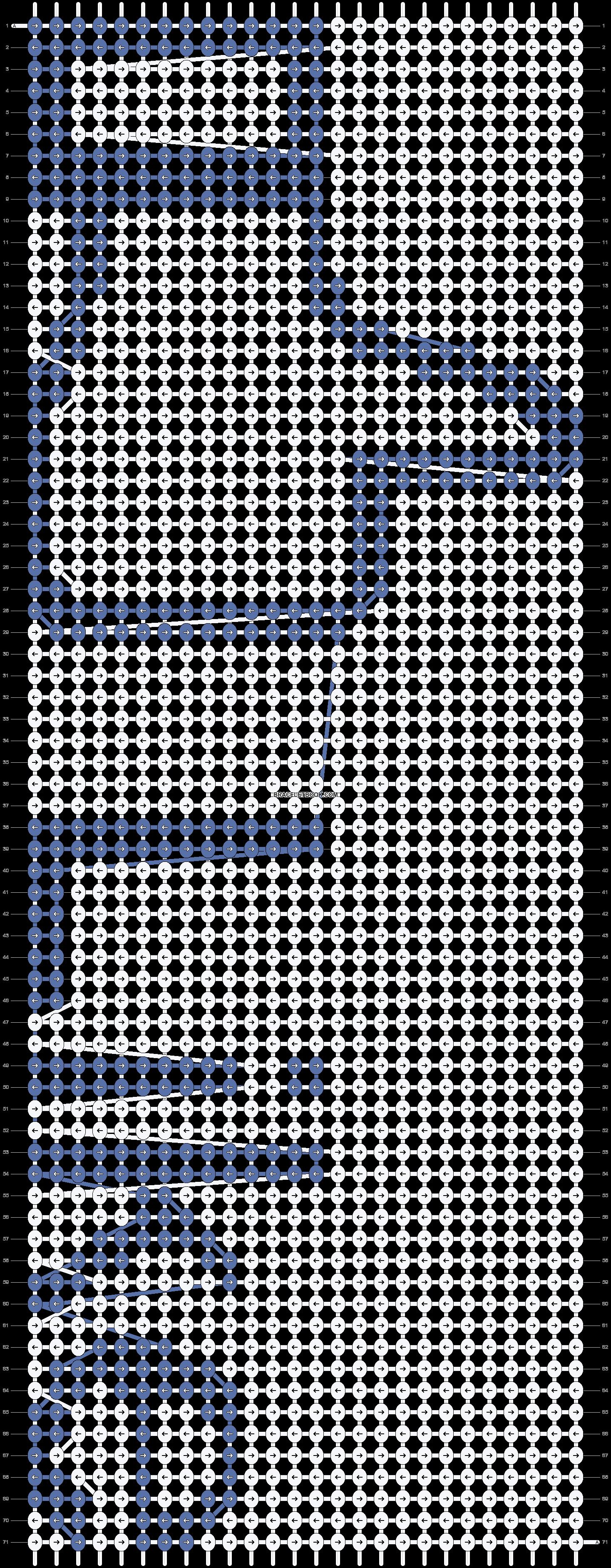 Alpha pattern #2665 pattern