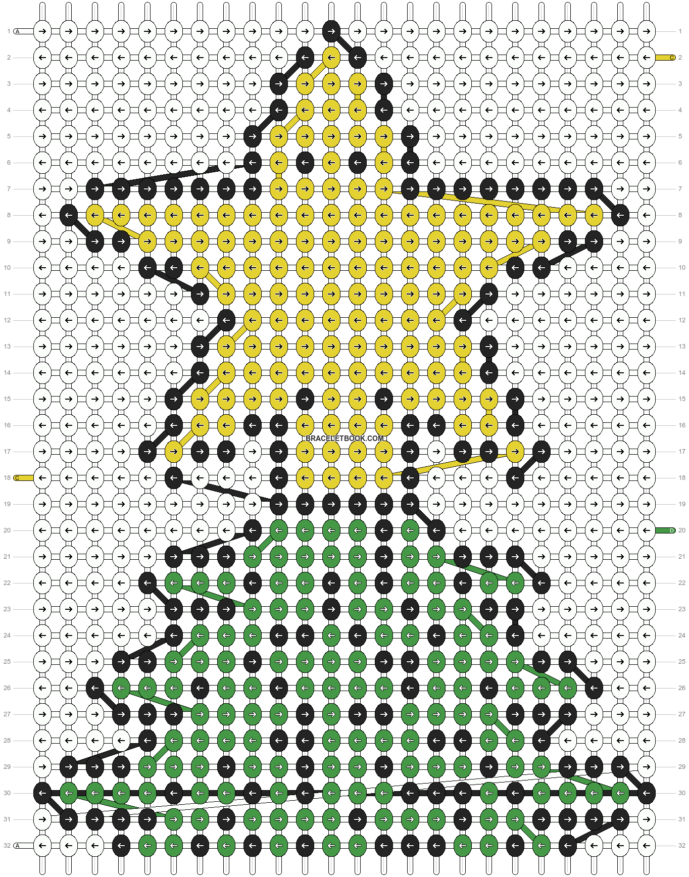 Alpha pattern #2671 pattern