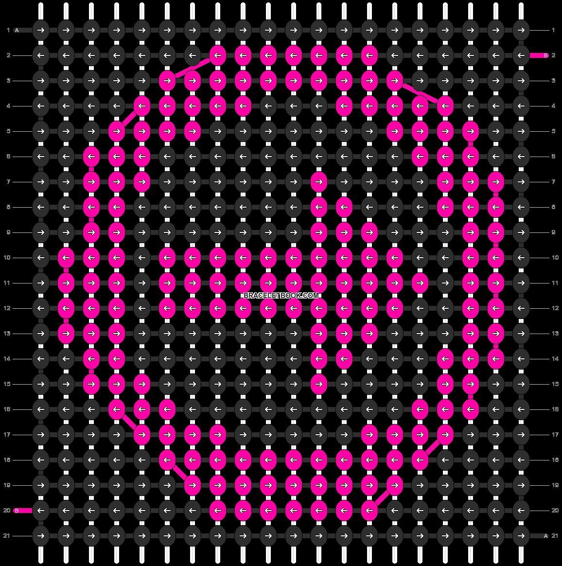Alpha pattern #2675 pattern