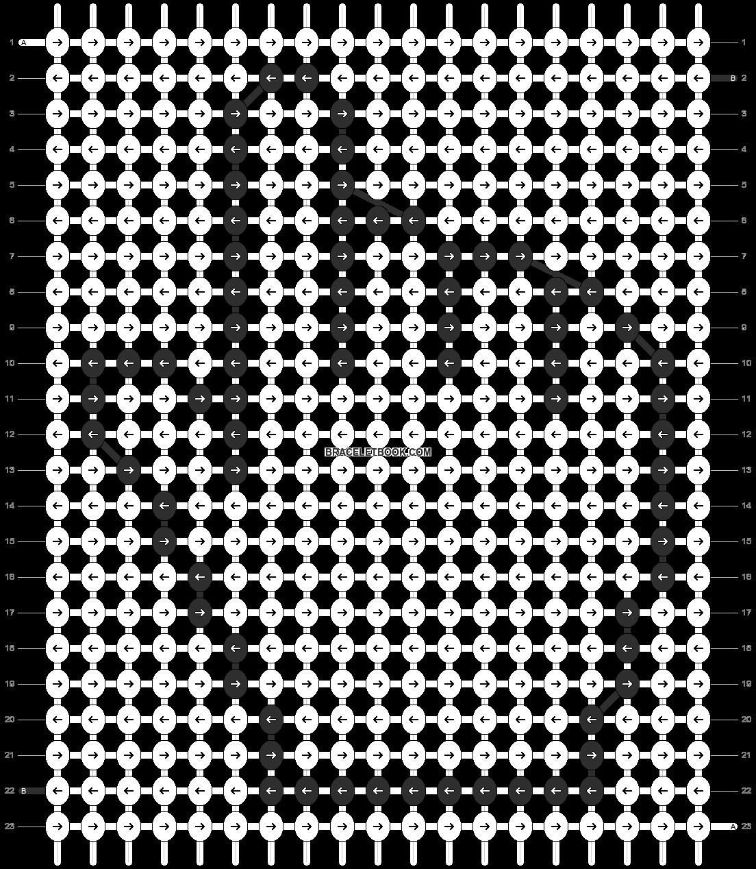 Alpha pattern #2677 pattern