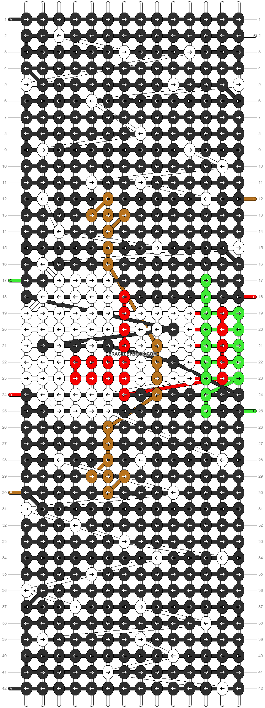 Alpha pattern #2680 pattern