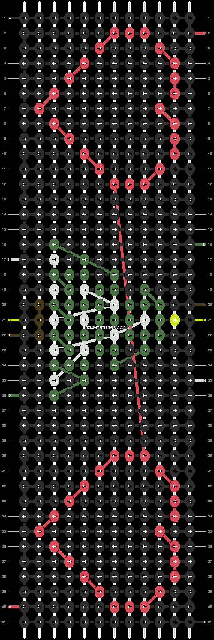 Alpha pattern #2686 pattern