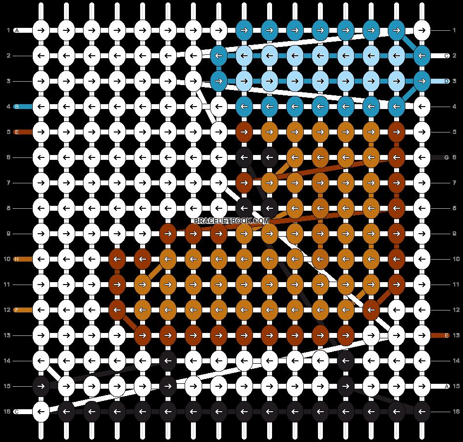 Alpha pattern #2697 pattern