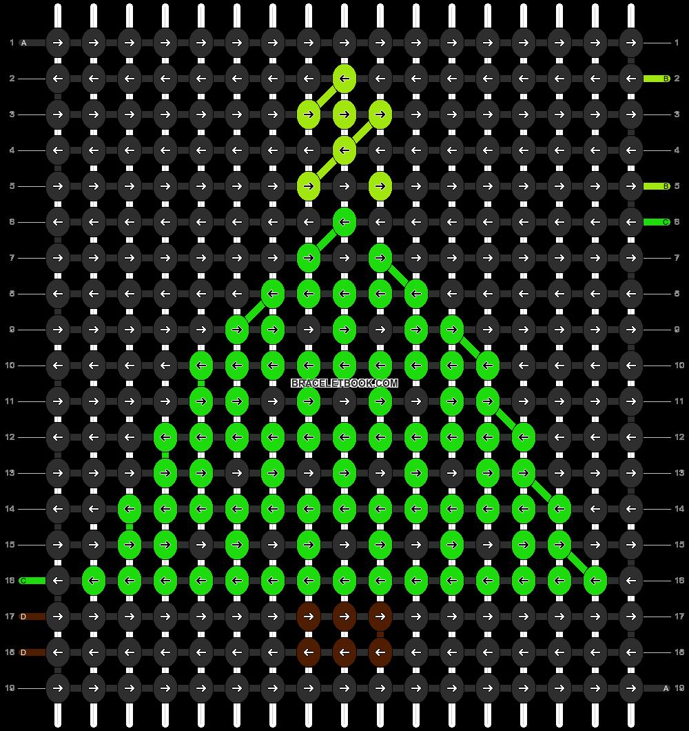 Alpha pattern #2698 pattern