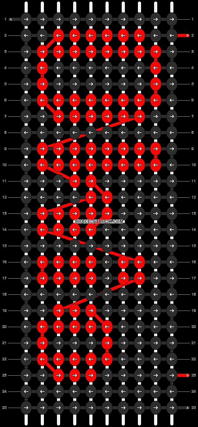 Alpha pattern #2702 pattern