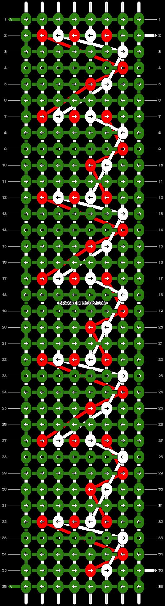 Alpha pattern #2716 pattern
