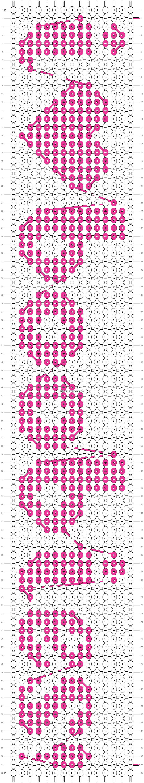 Alpha pattern #2717 pattern