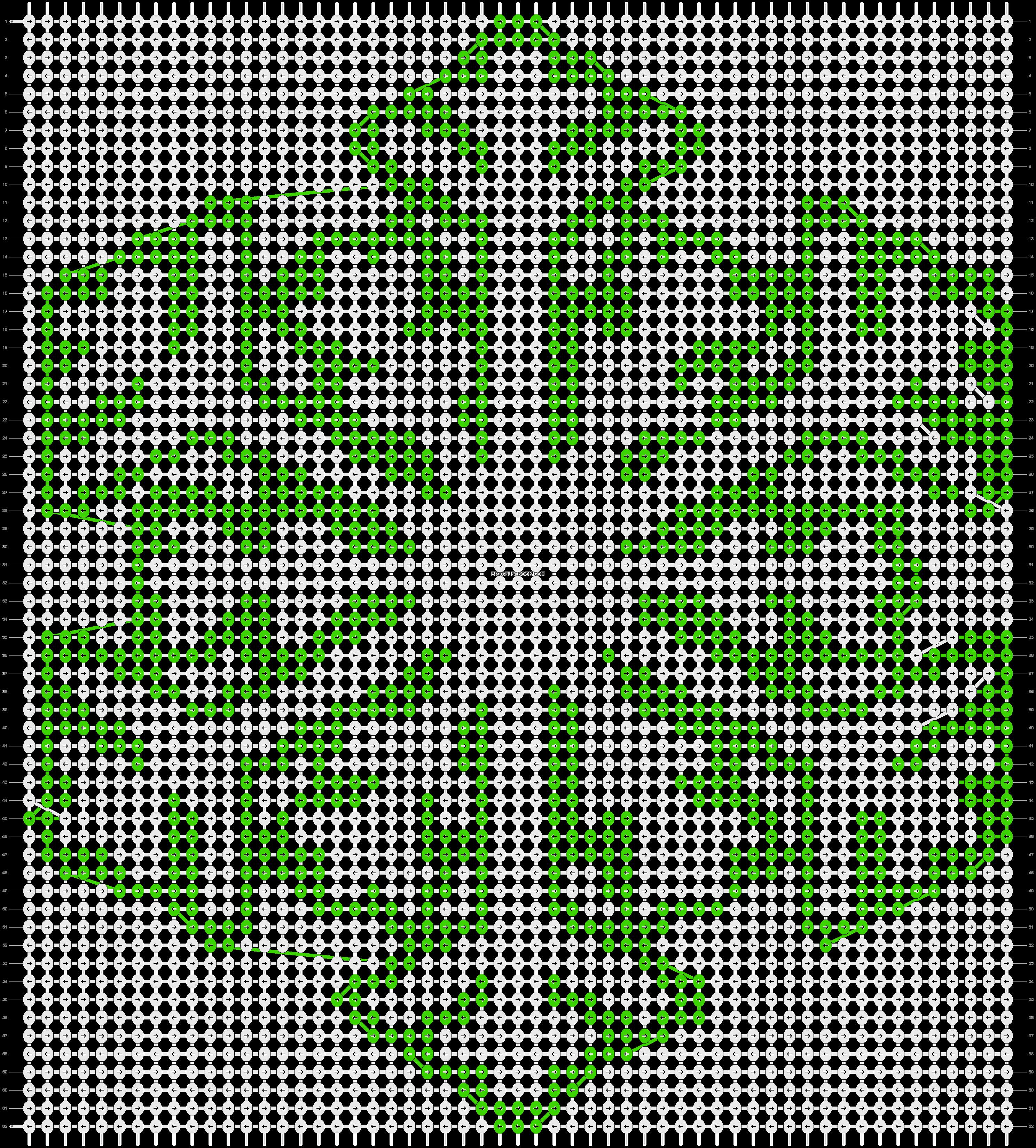 Alpha pattern #2725 pattern
