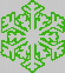 Alpha Friendship Bracelet Pattern #2725