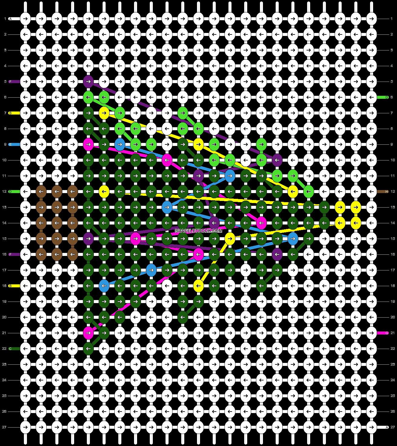 Alpha pattern #2727 pattern