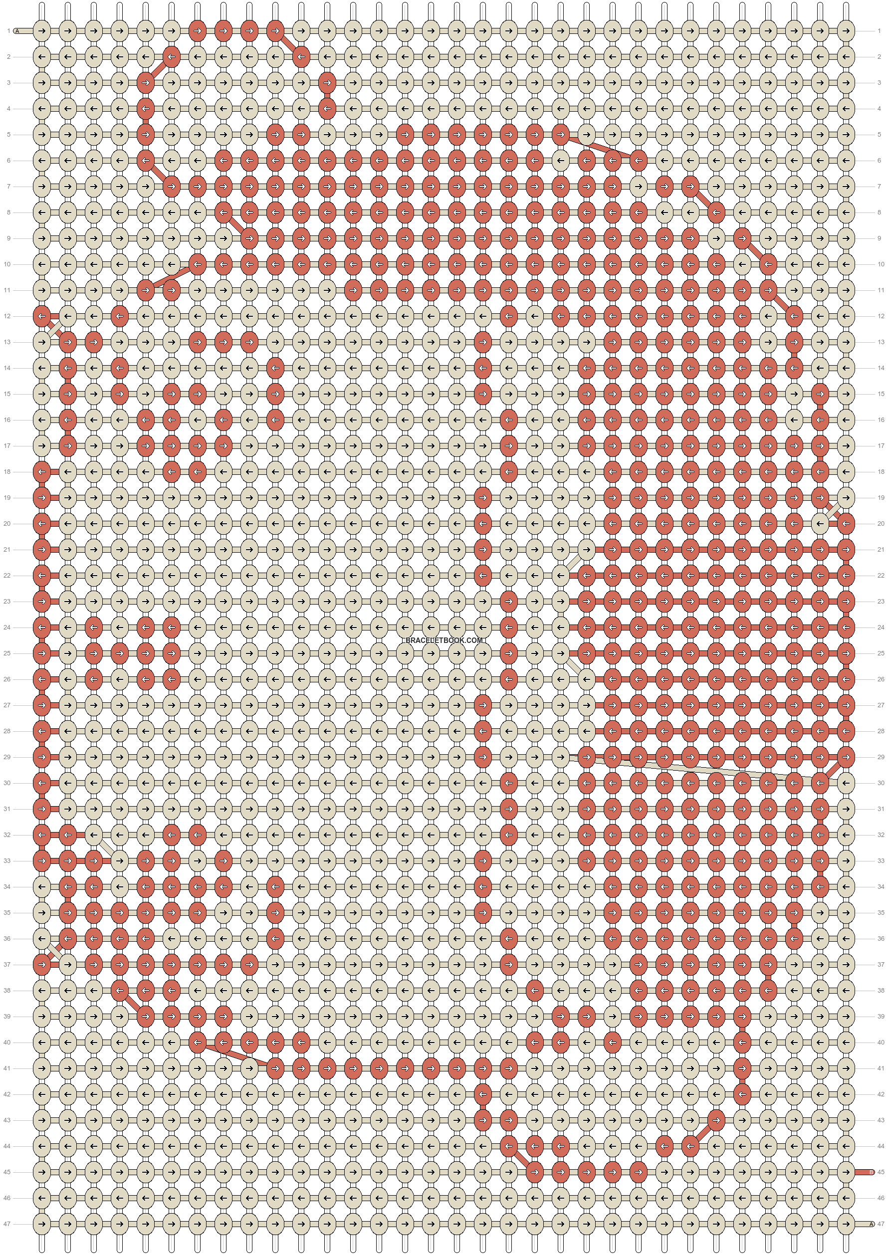 Alpha pattern #2731 pattern