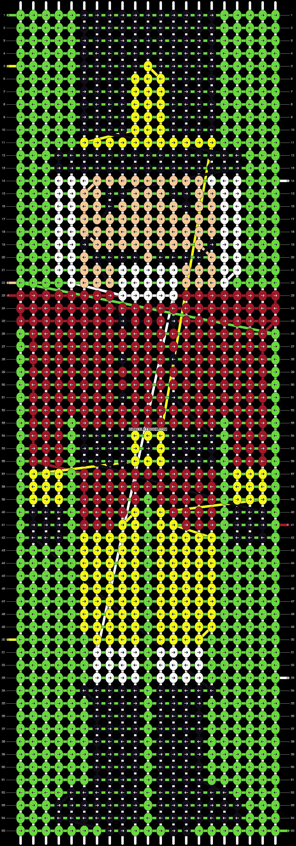 Alpha pattern #2736 pattern