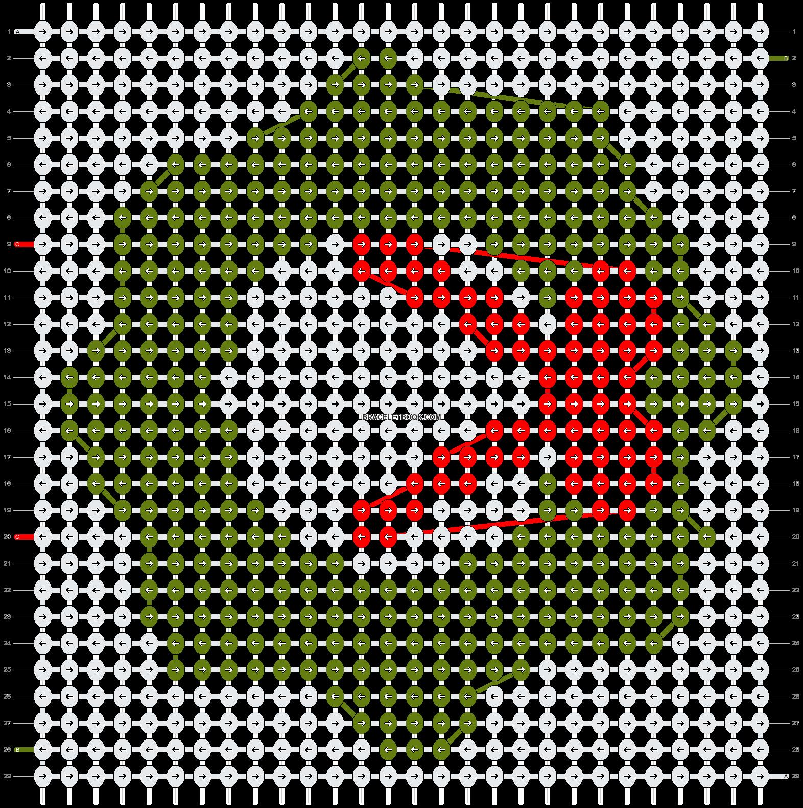 Alpha pattern #2737 pattern