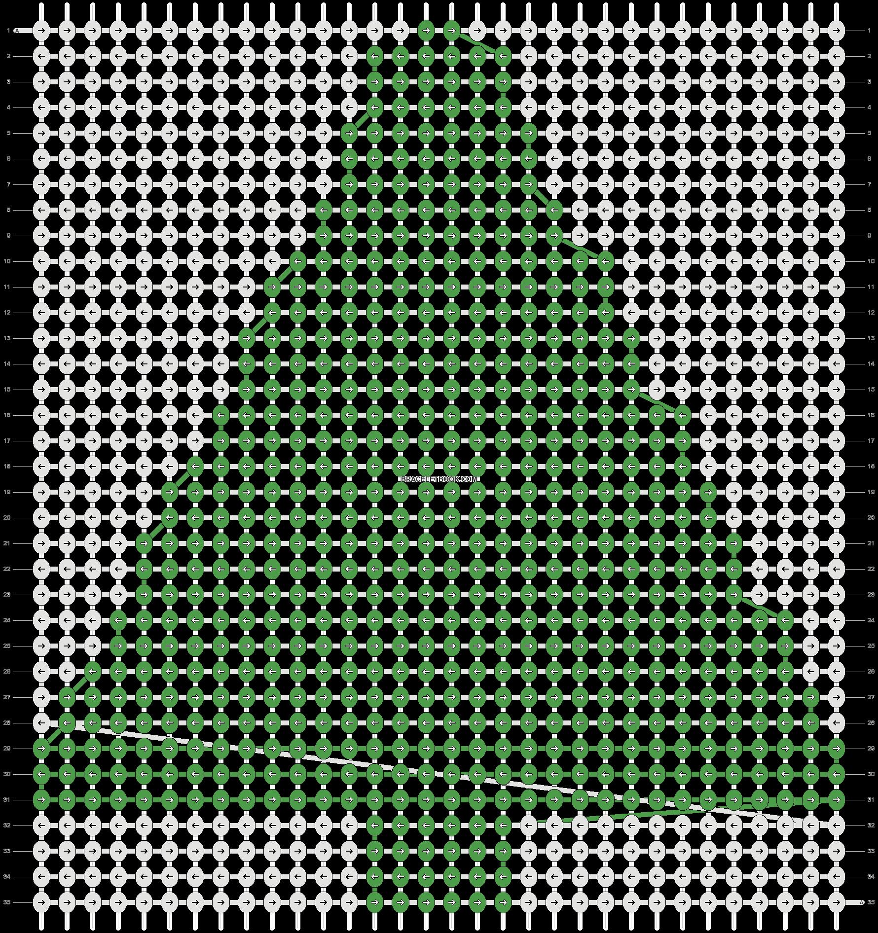 Alpha pattern #2738 pattern