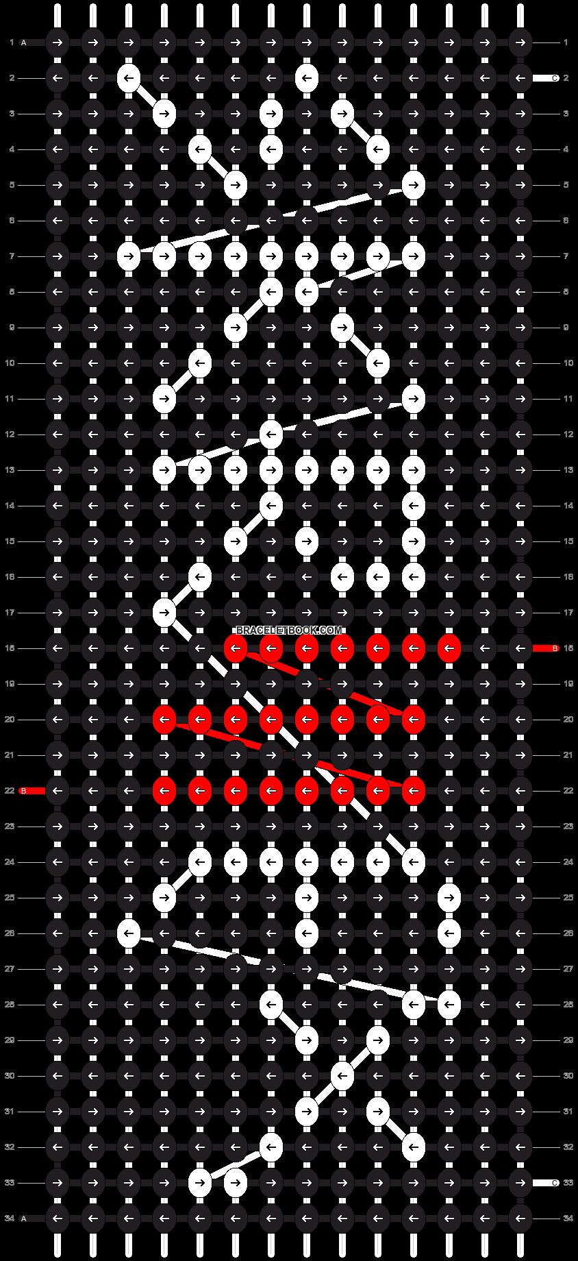Alpha pattern #2739 pattern
