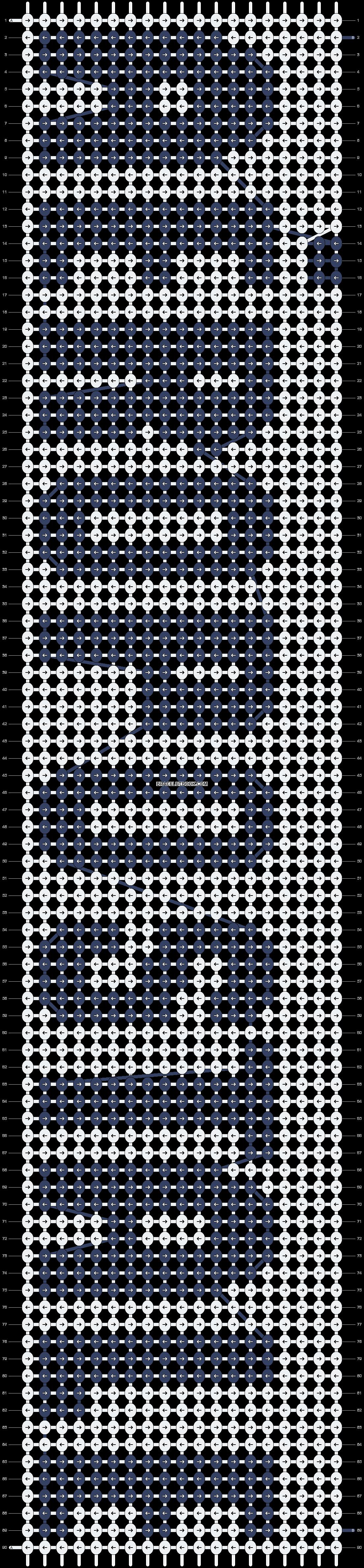 Alpha pattern #2743 pattern