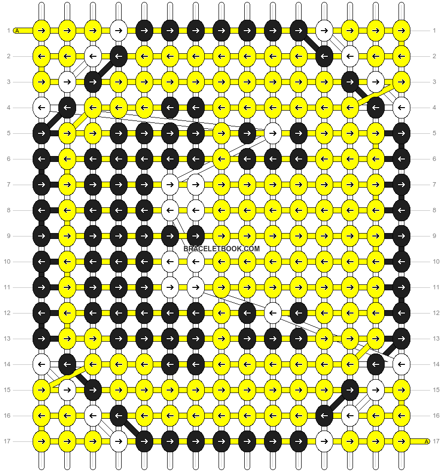 Alpha pattern #2744 pattern
