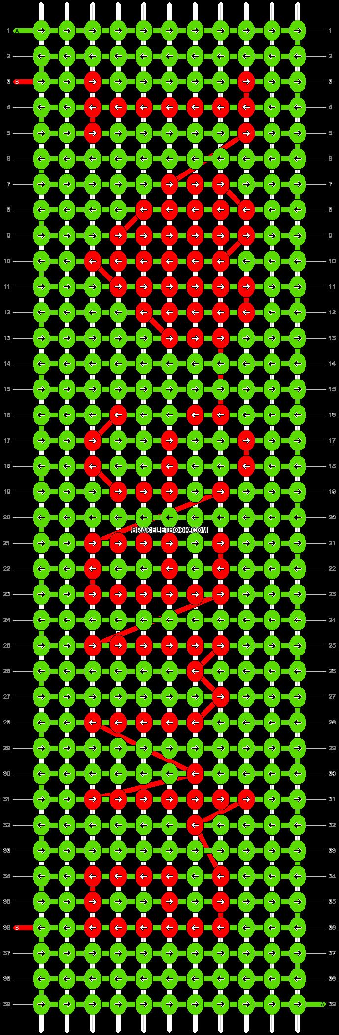 Alpha pattern #2748 pattern
