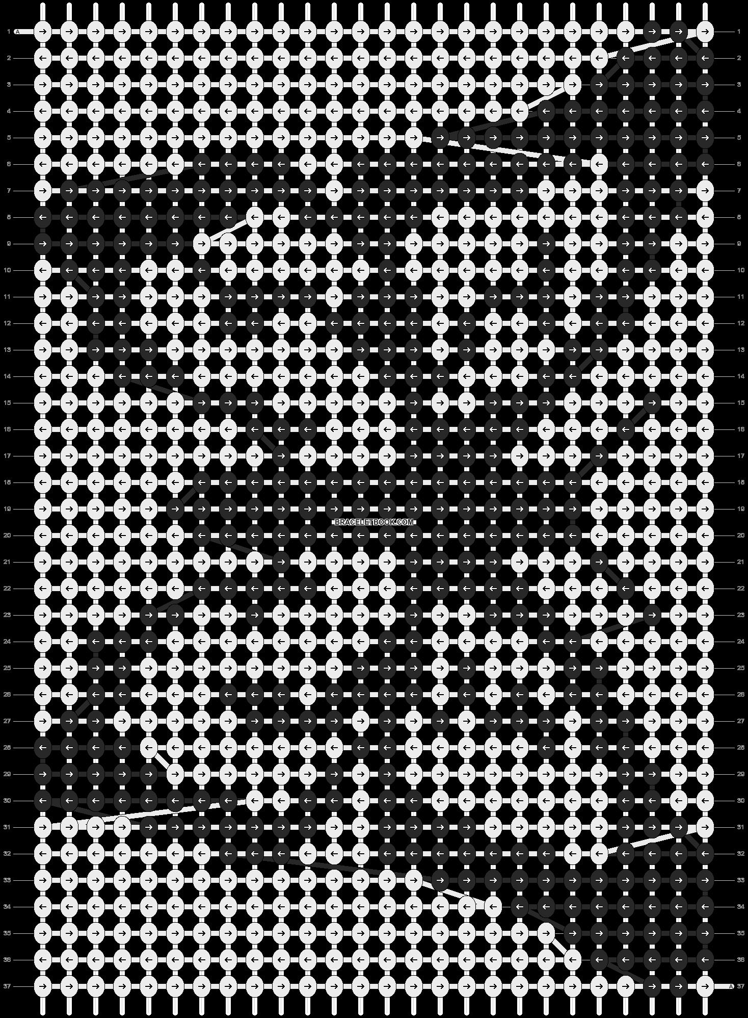 Alpha pattern #2753 pattern