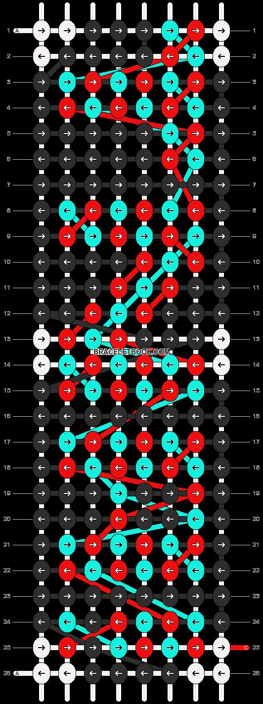 Alpha pattern #2758 pattern