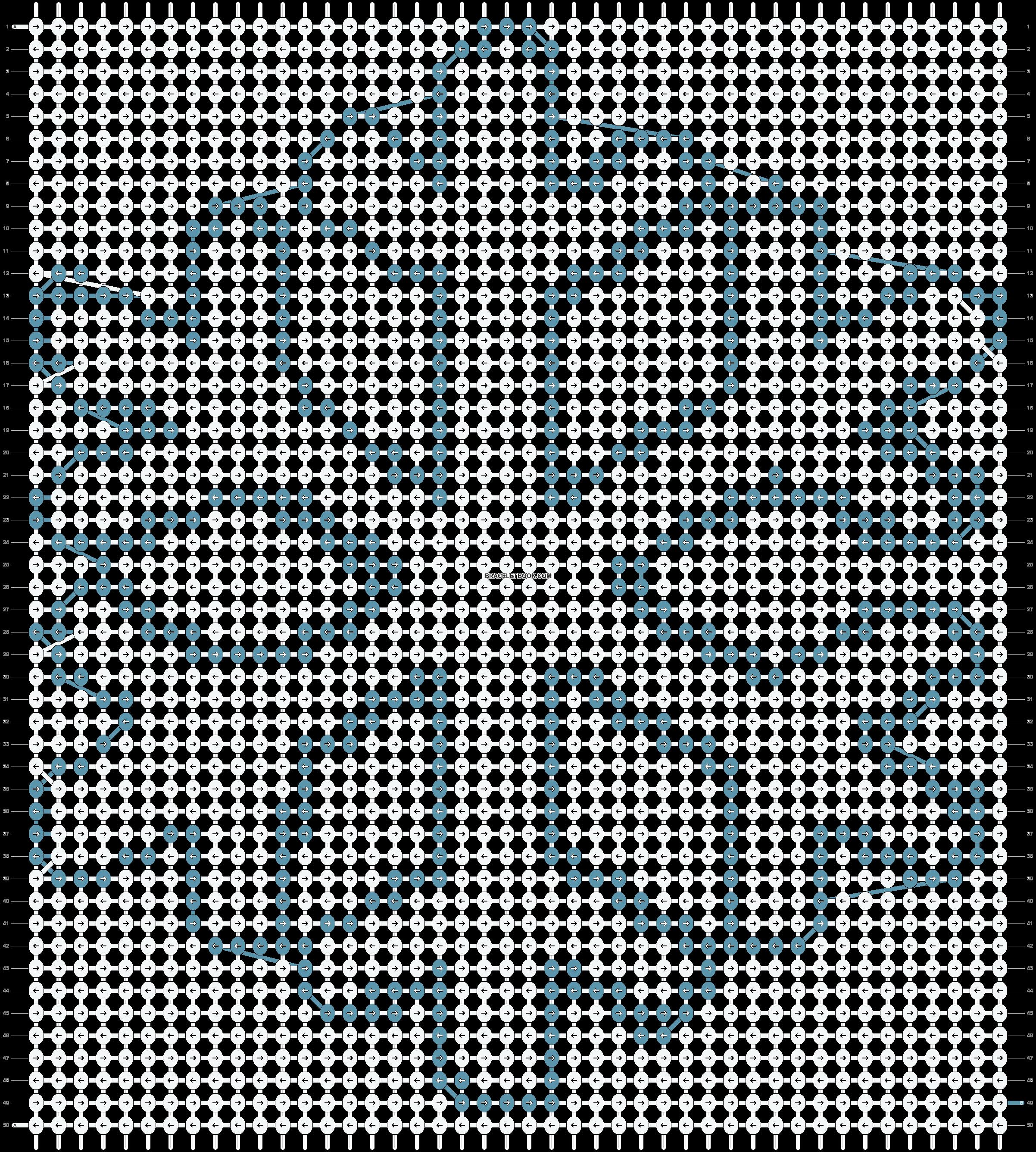 Alpha pattern #2760 pattern