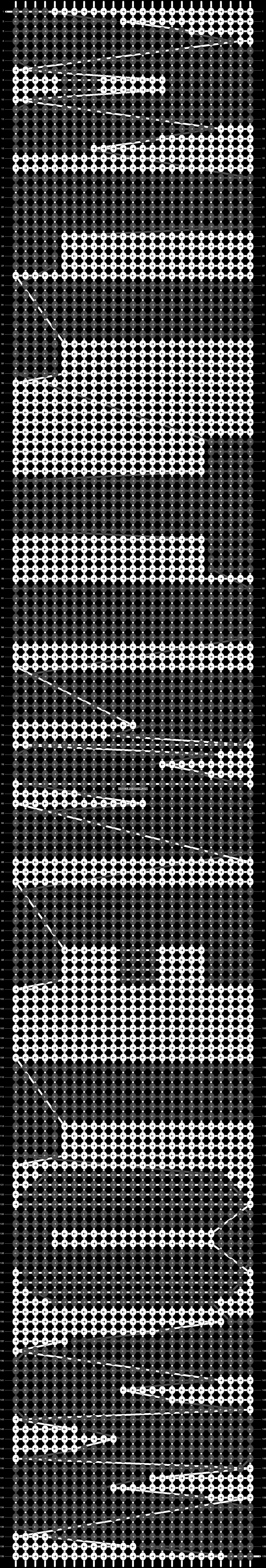 Alpha pattern #2766 pattern