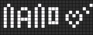 Alpha pattern #2775