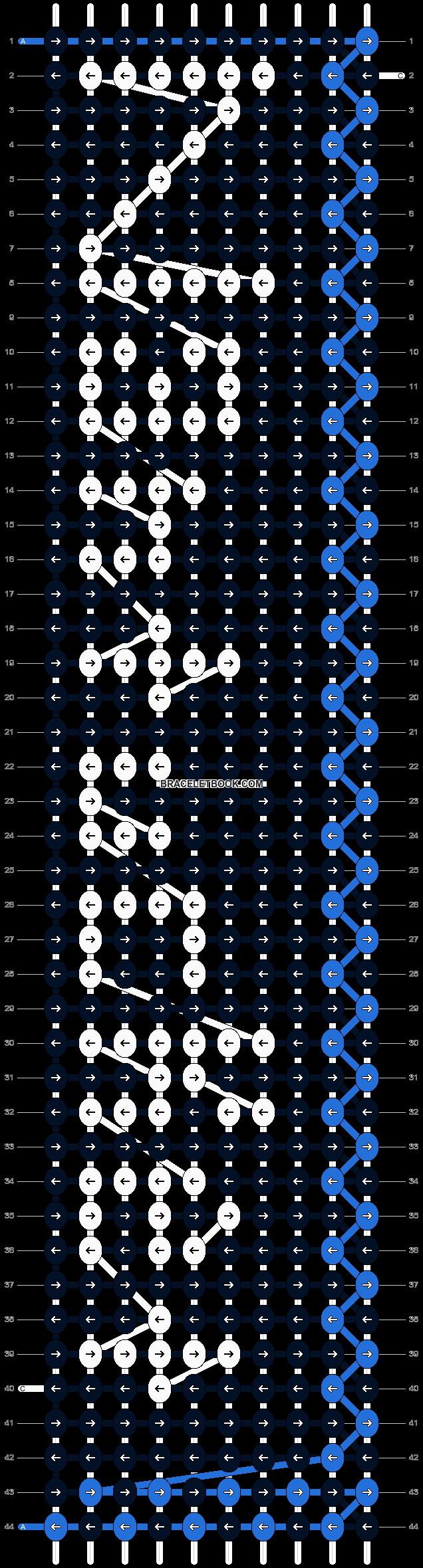Alpha pattern #2780 pattern