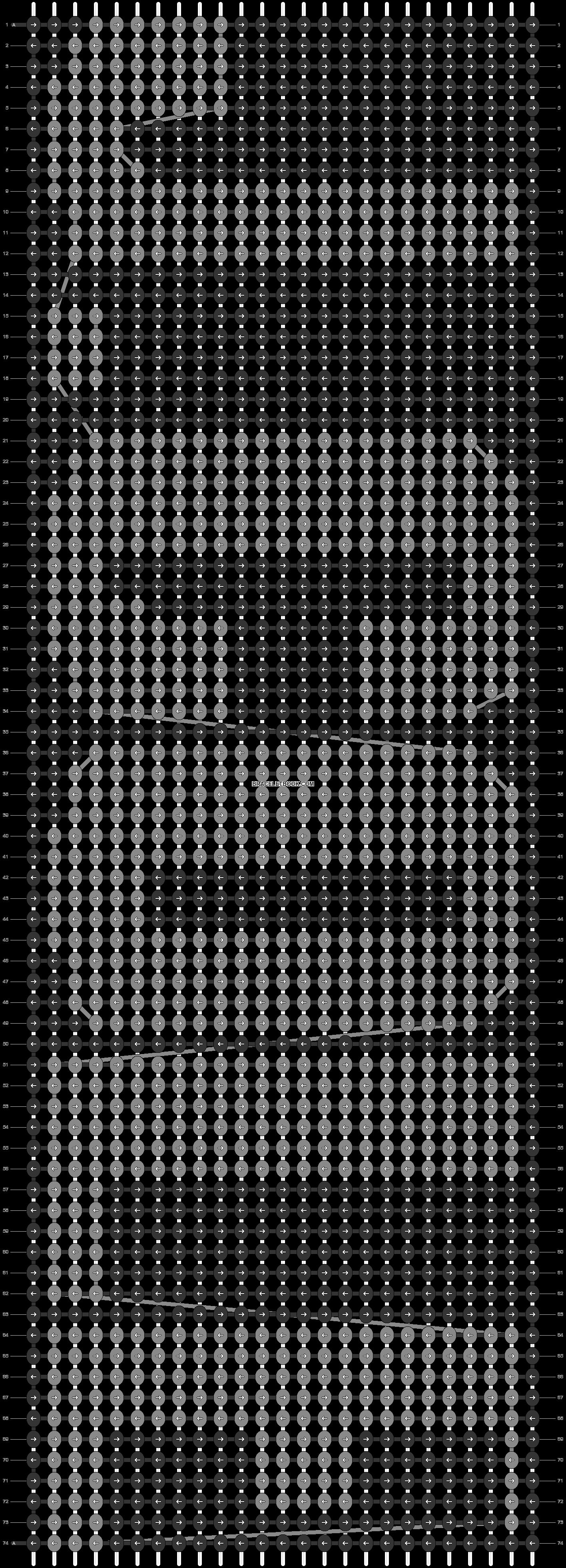 Alpha pattern #2783 pattern