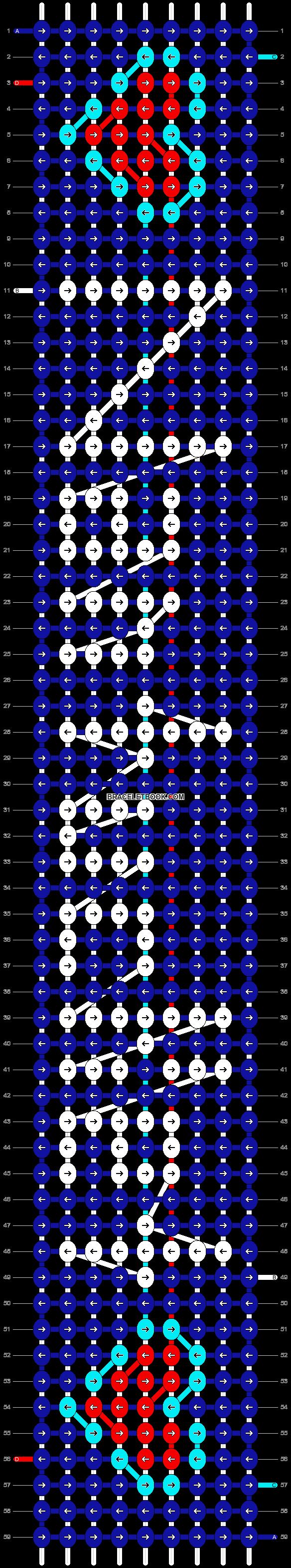 Alpha pattern #2784 pattern