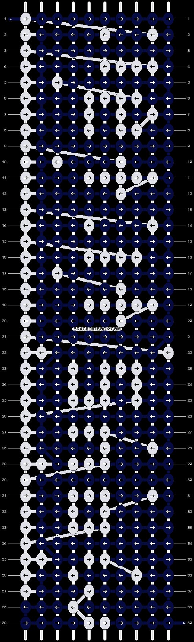 Alpha pattern #2785 pattern