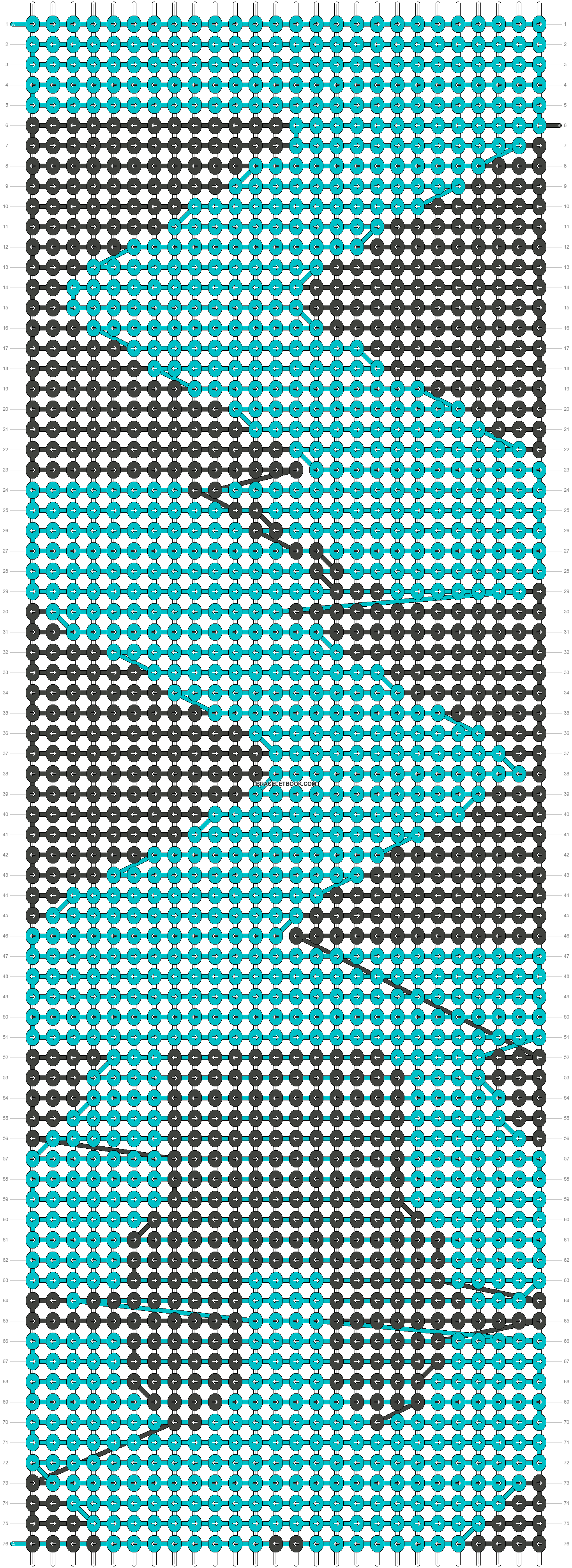 Alpha pattern #2787 pattern