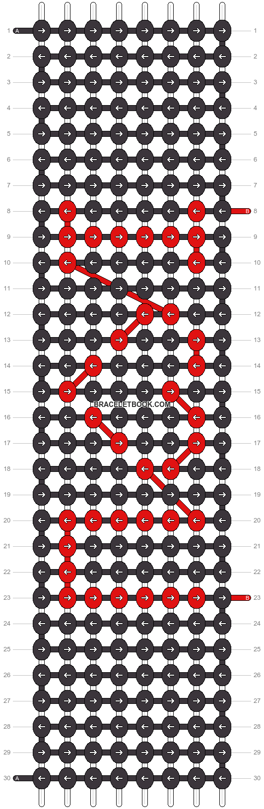 Alpha pattern #2789 pattern