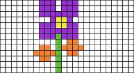 Alpha pattern #2800