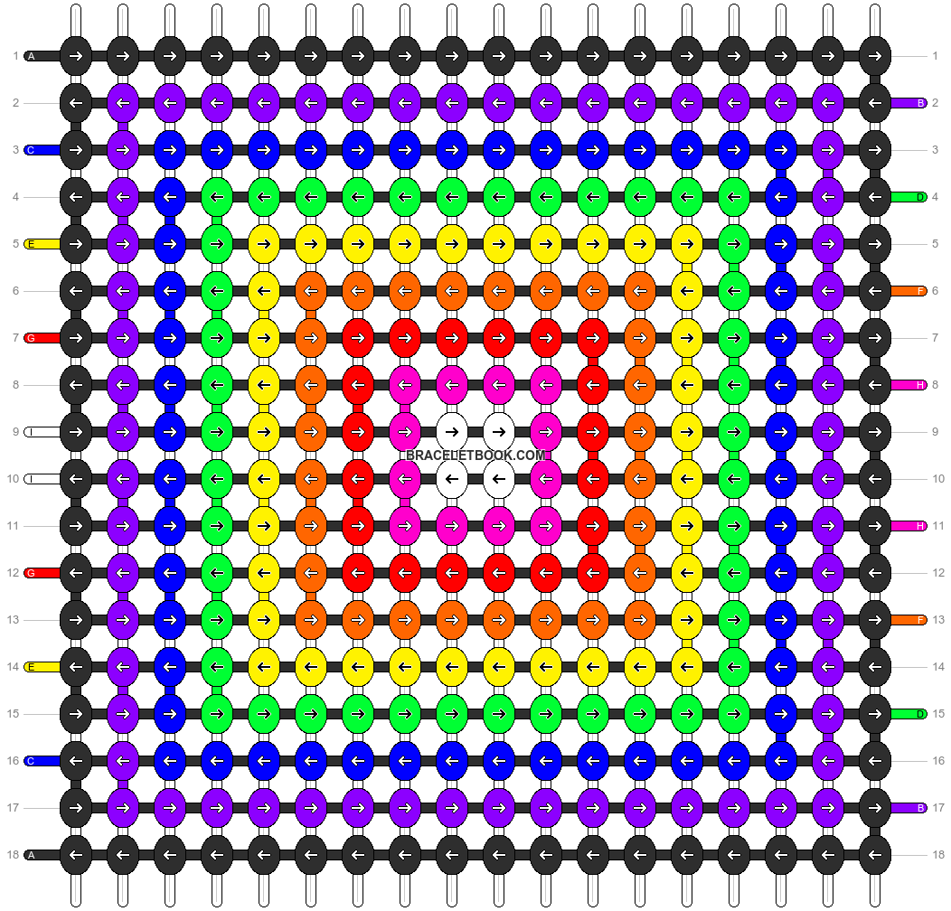 Alpha pattern #2804 pattern