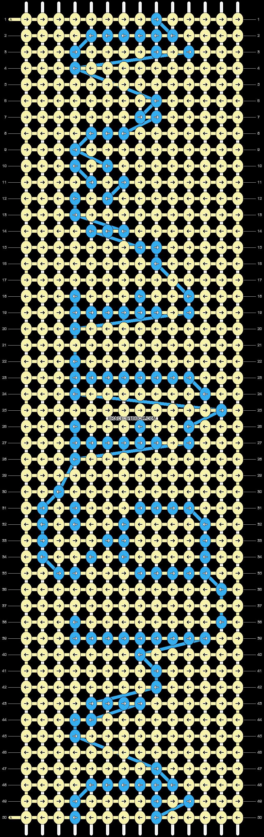 Alpha pattern #2806 pattern