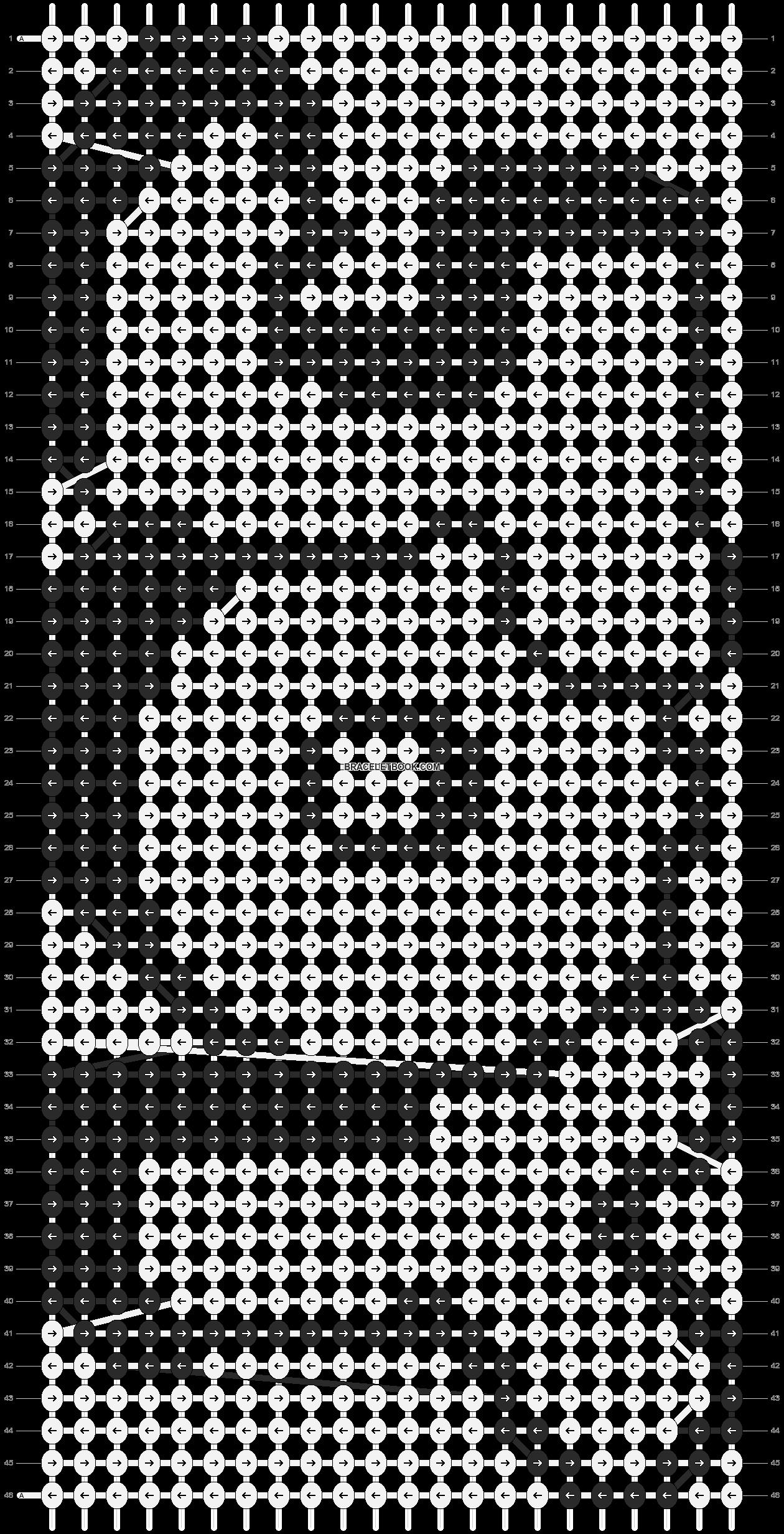 Alpha pattern #2808 pattern