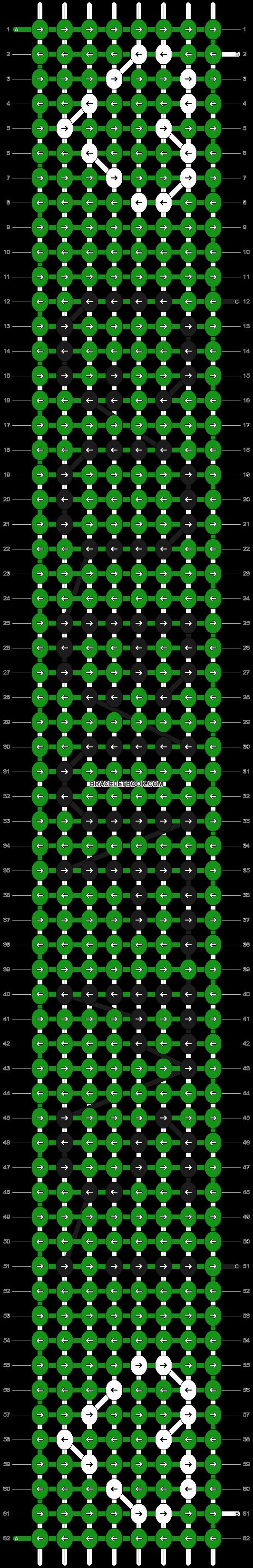 Alpha pattern #2809 pattern