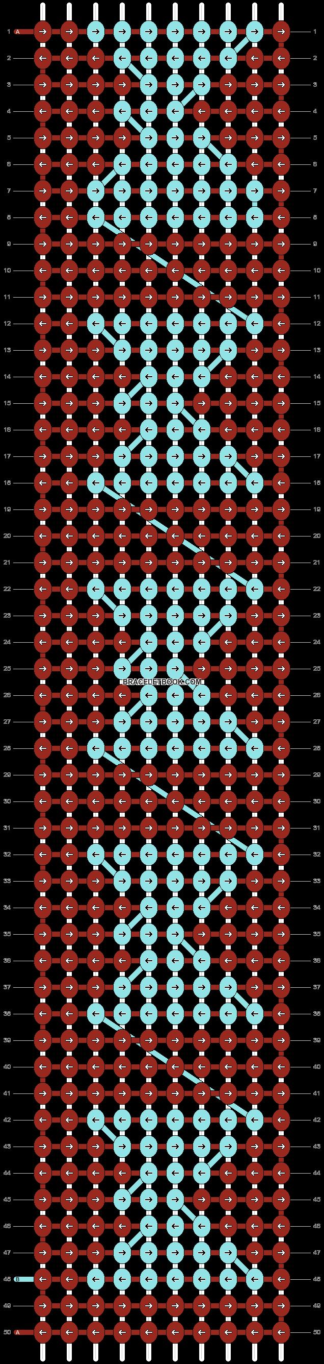 Alpha pattern #2818 pattern
