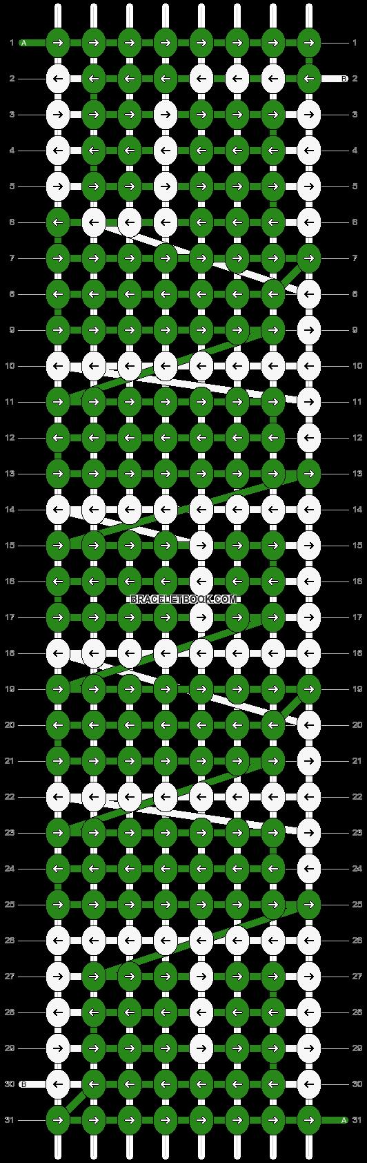Alpha pattern #2828 pattern