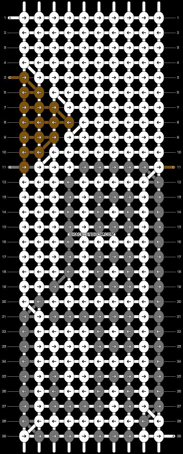 Alpha pattern #2829 pattern