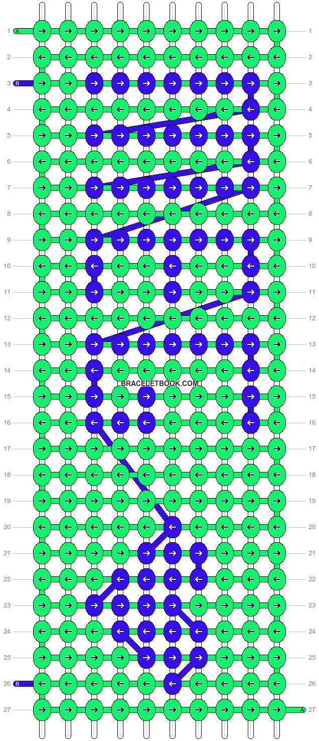 Alpha pattern #2836 pattern