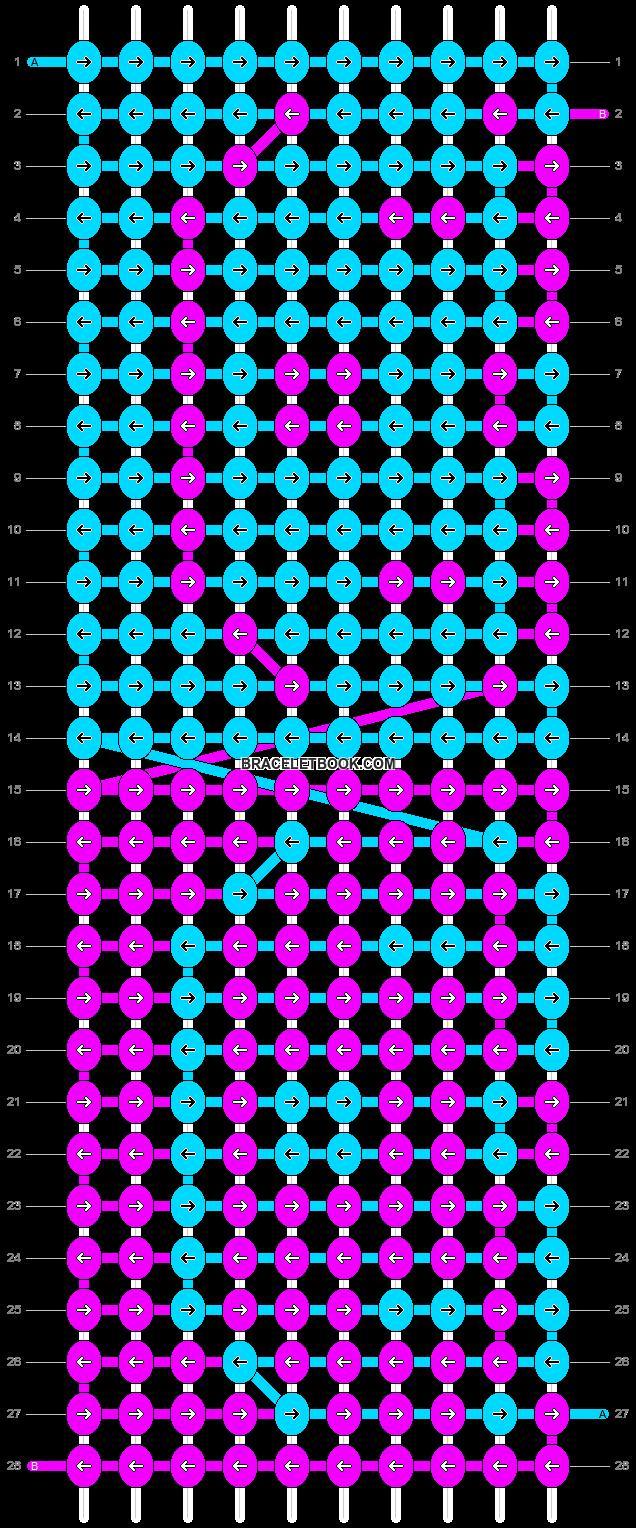 Alpha pattern #2845 pattern